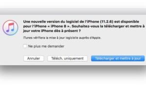 Actualización de iOS 11.2.6 para iPhone, iPad y iPod touch (IPSW)