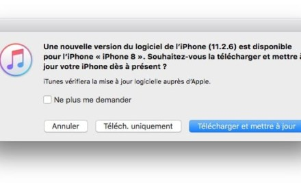 Actualización de iOS 11.2.6 para iPhone, iPad y iPod touch (IPSW)