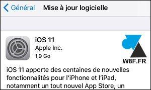 Nuevo y actualizado iOS11 para iPhone y iPad