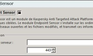 Habilitar Kaspersky Endpoint Sensor
