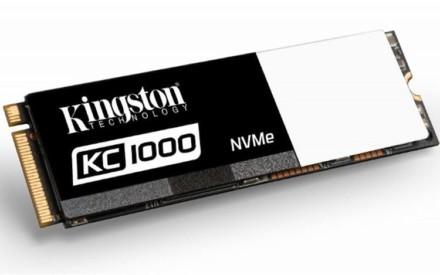Kingston lanza el nuevo SSDNow KC1000 que promete ser 40 veces más rápido que el HD