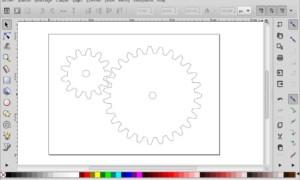 Cómo hacer un dibujo de engranajes