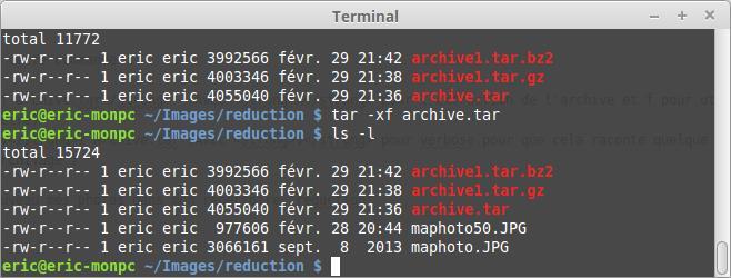 Cómo usar el comando tar en Linux