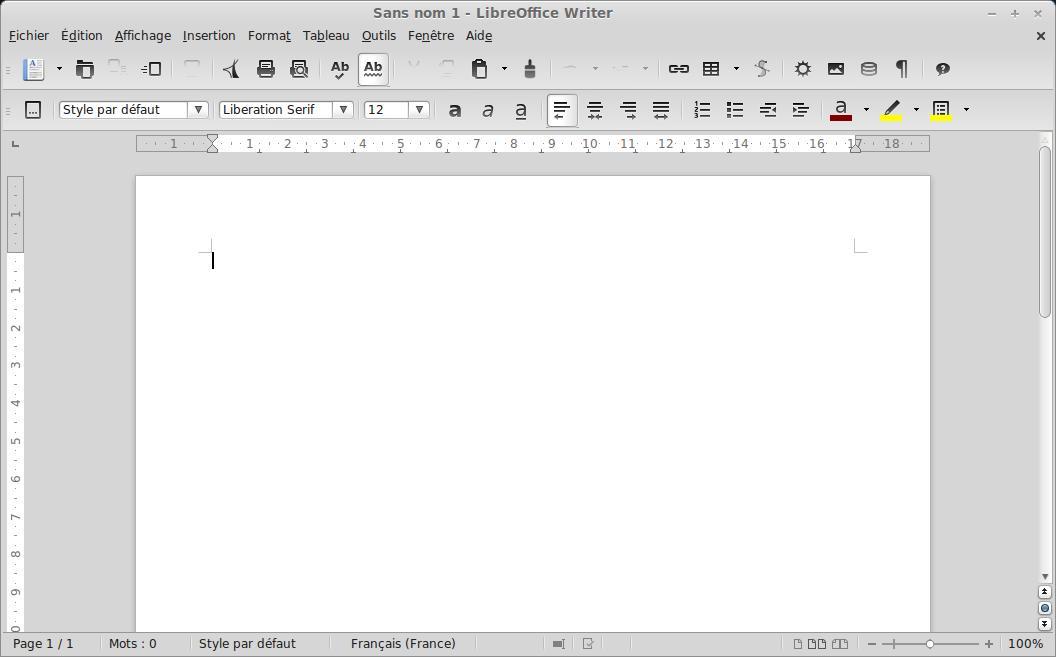 LibreOffice no está en francés con Linux Mint 15