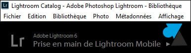 Adobe Lightroom: cambiar el idioma del software