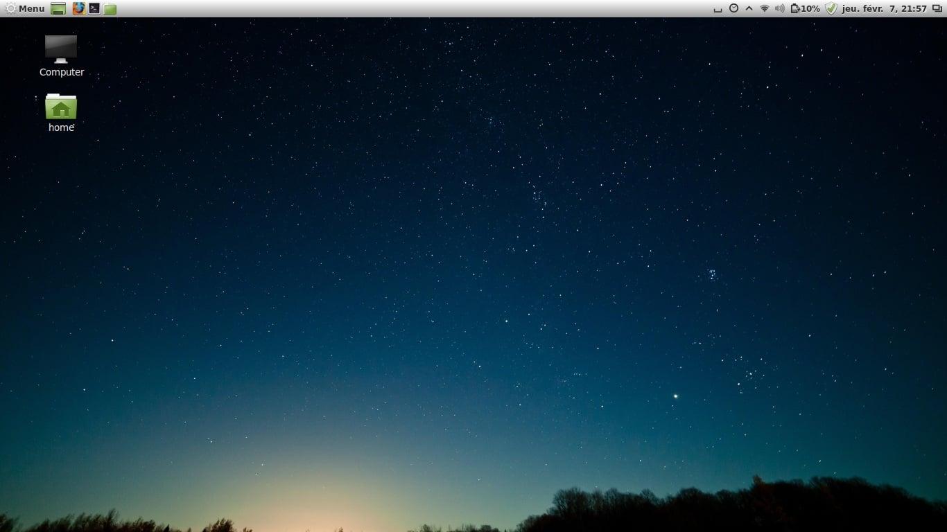 Linux Mint, cambia el lugar del dashboard