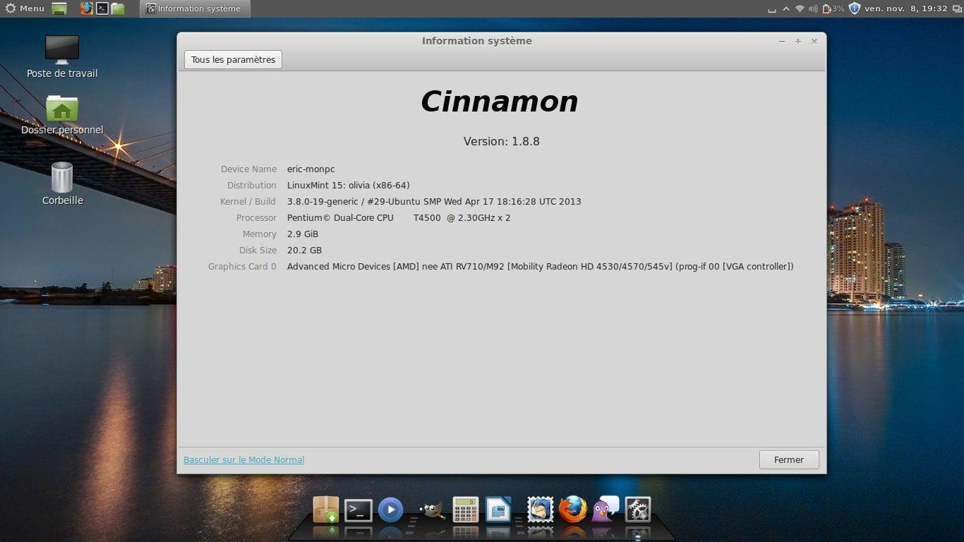 ¿Cuál es mi versión de Linux Mint Cinnamon?