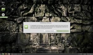 Linux Mint 13 Maya, edición Cinnamon, instalación en imágenes