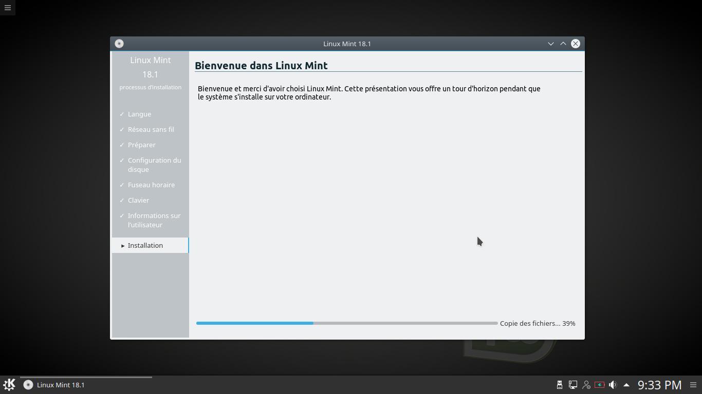 Cómo instalar Linux Mint KDE desktop