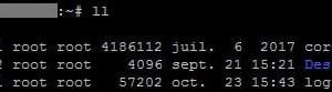 Linux: activar alias ll para ls -l