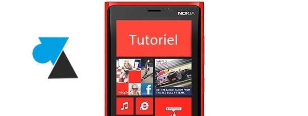 Lumia 920: bloqueado en pantalla azul