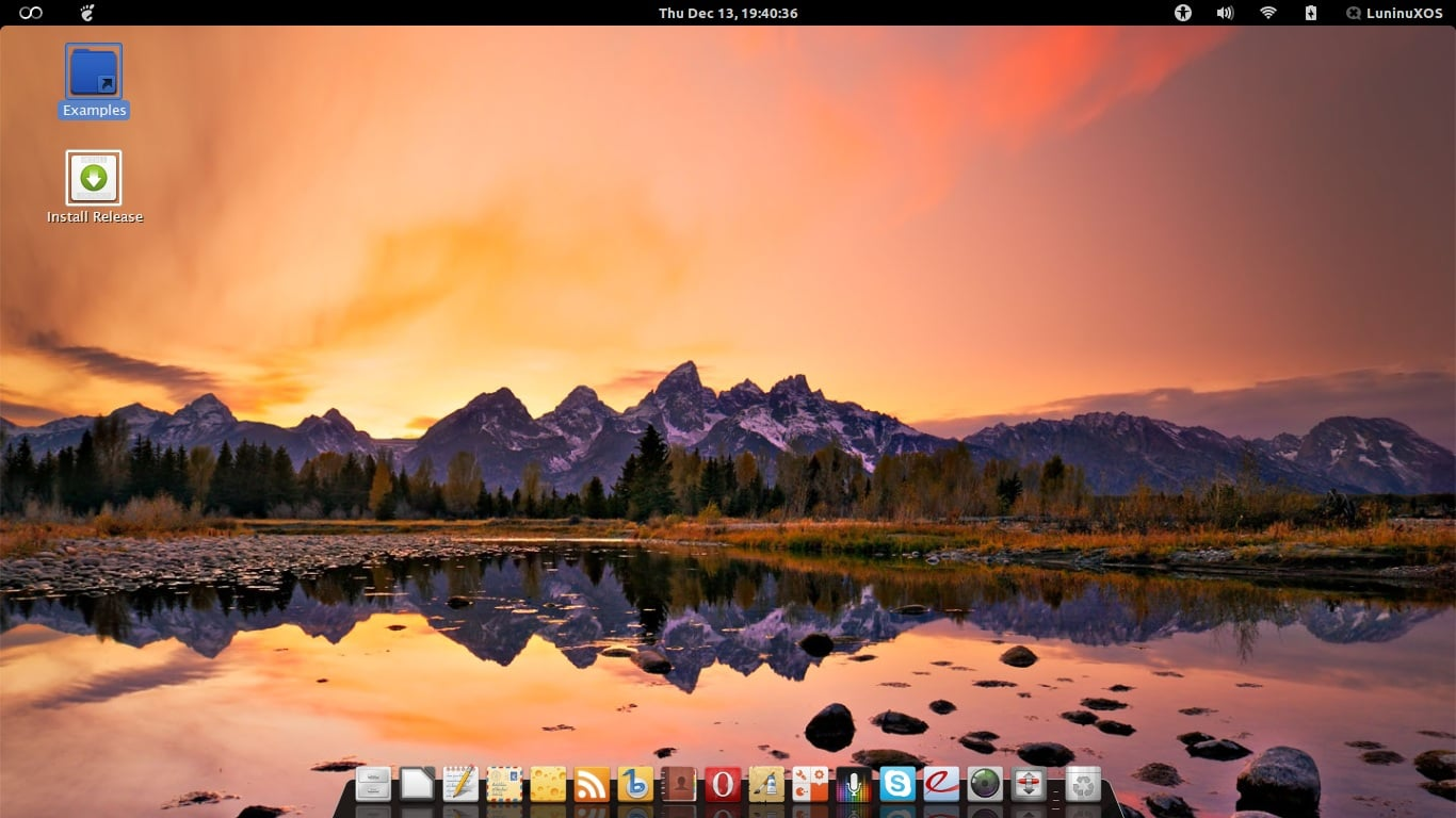 Luninux OS 12.10 ya está disponible