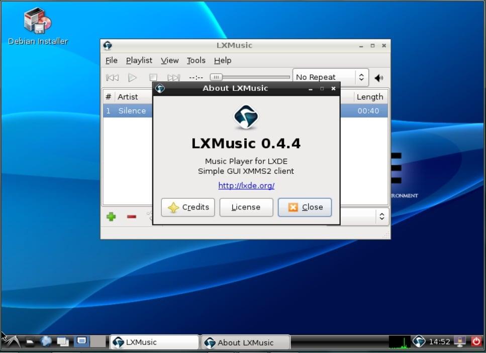 ¿Por qué elegir LXDE?
