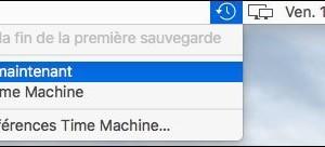 Mac OS X: vuelve a poner el icono de Time Machine en la barra de menús