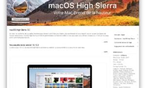 macOS High Sierra 10.13.2 disponible para todos los Macs