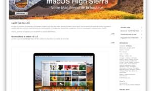 macOS High Sierra 10.13.3 disponible para todos los Macs