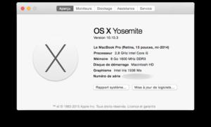 MacBook: prueba la memoria (RAM)