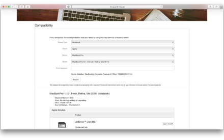 Almacenamiento en el MacBook: aumenta la capacidad de 64 a 256 GB con JetDrive Lite
