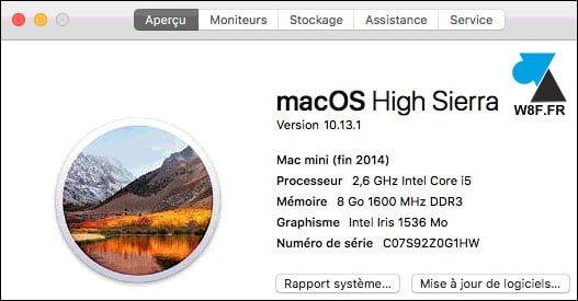 Actualización a macOS High Sierra 10.13