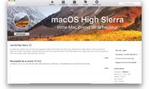 Actualización adicional de macOS High Sierra 10.13.2