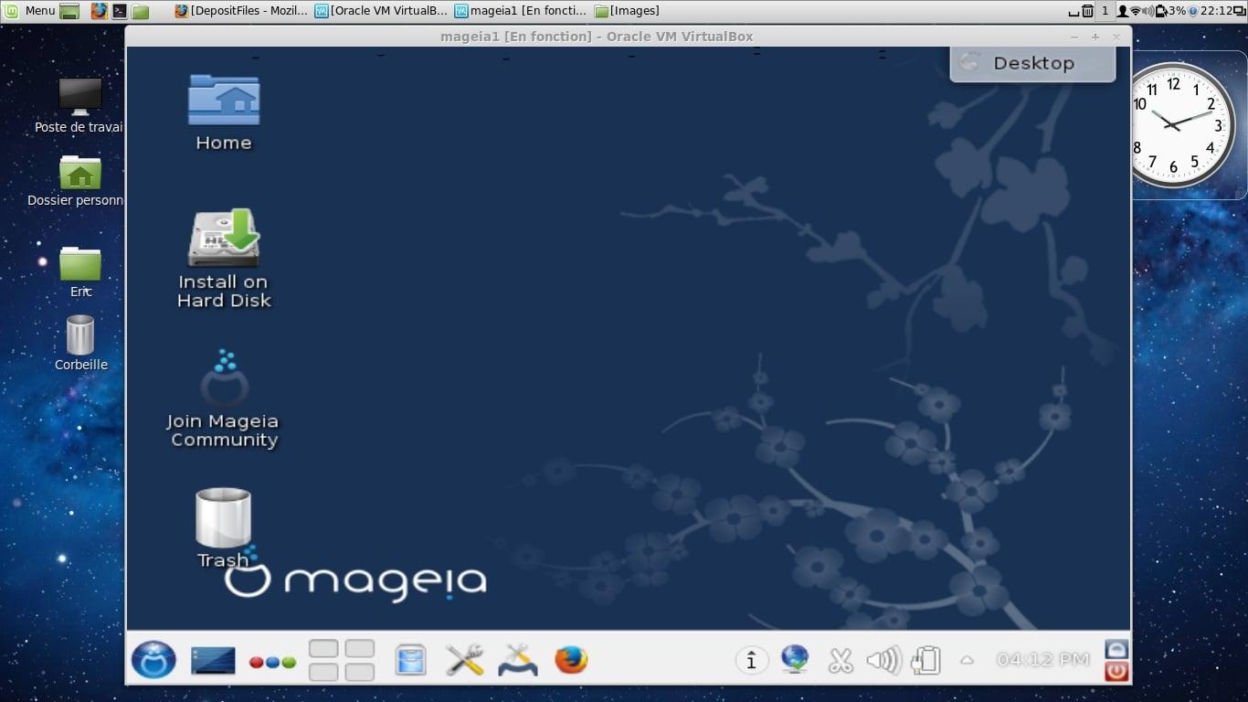 Instalar Mageia 2 en un disco duro vacío