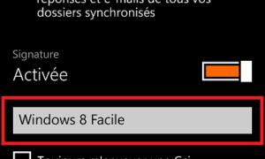 Windows Phone: desactivar la firma automática en los correos electrónicos