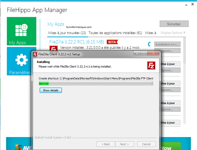 ¿Cómo actualizar el software automáticamente?