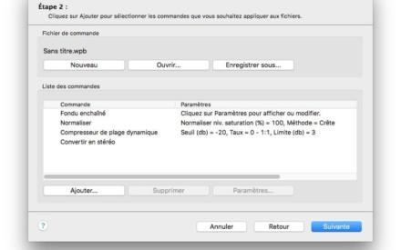 Edición de un archivo de audio en Mac OS X El Capitan (10.11)