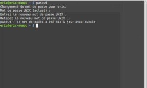 Cómo cambiar la contraseña en Linux Mint 17