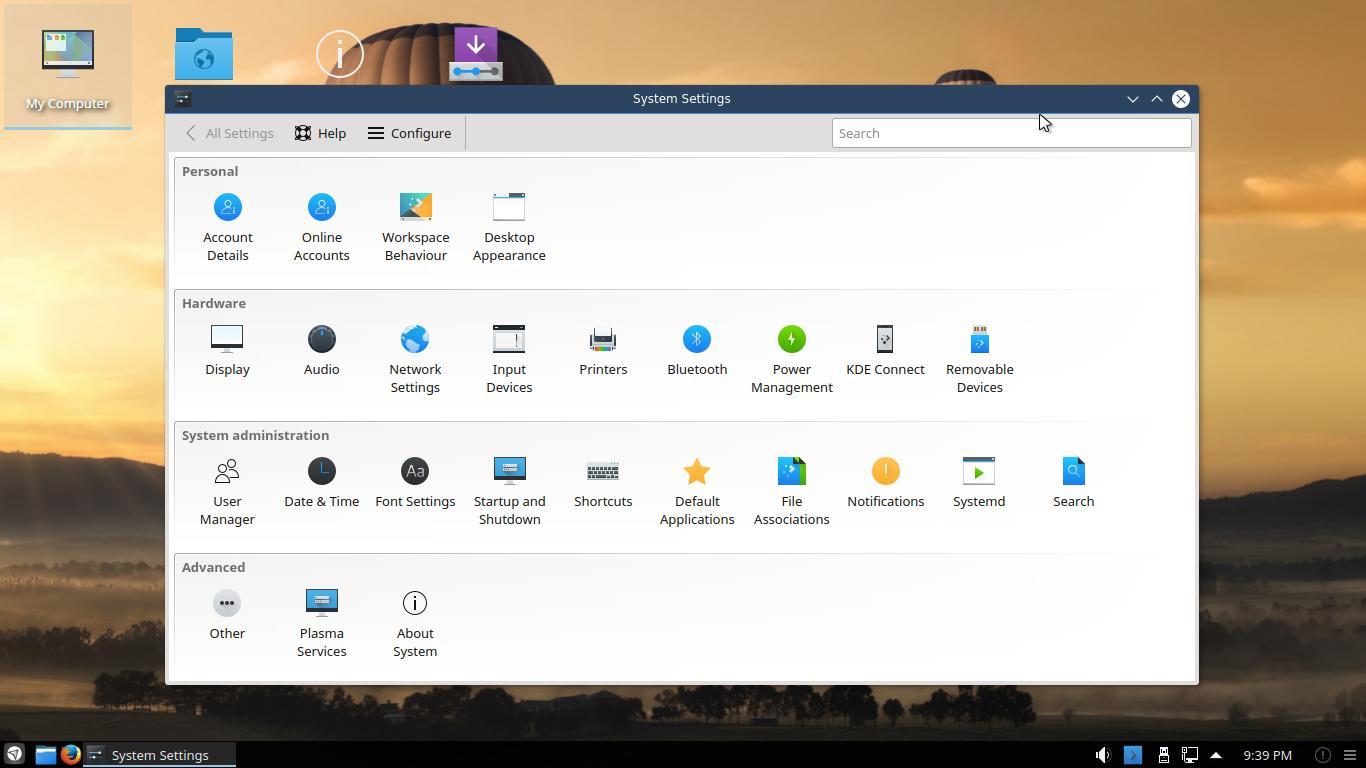 Netrunner 17.01 con Plasma KDE