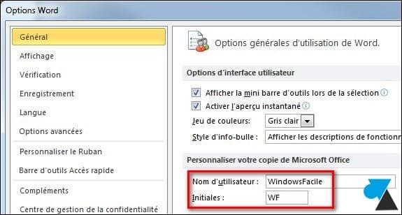 Office2010: cambiar el propietario de los documentos