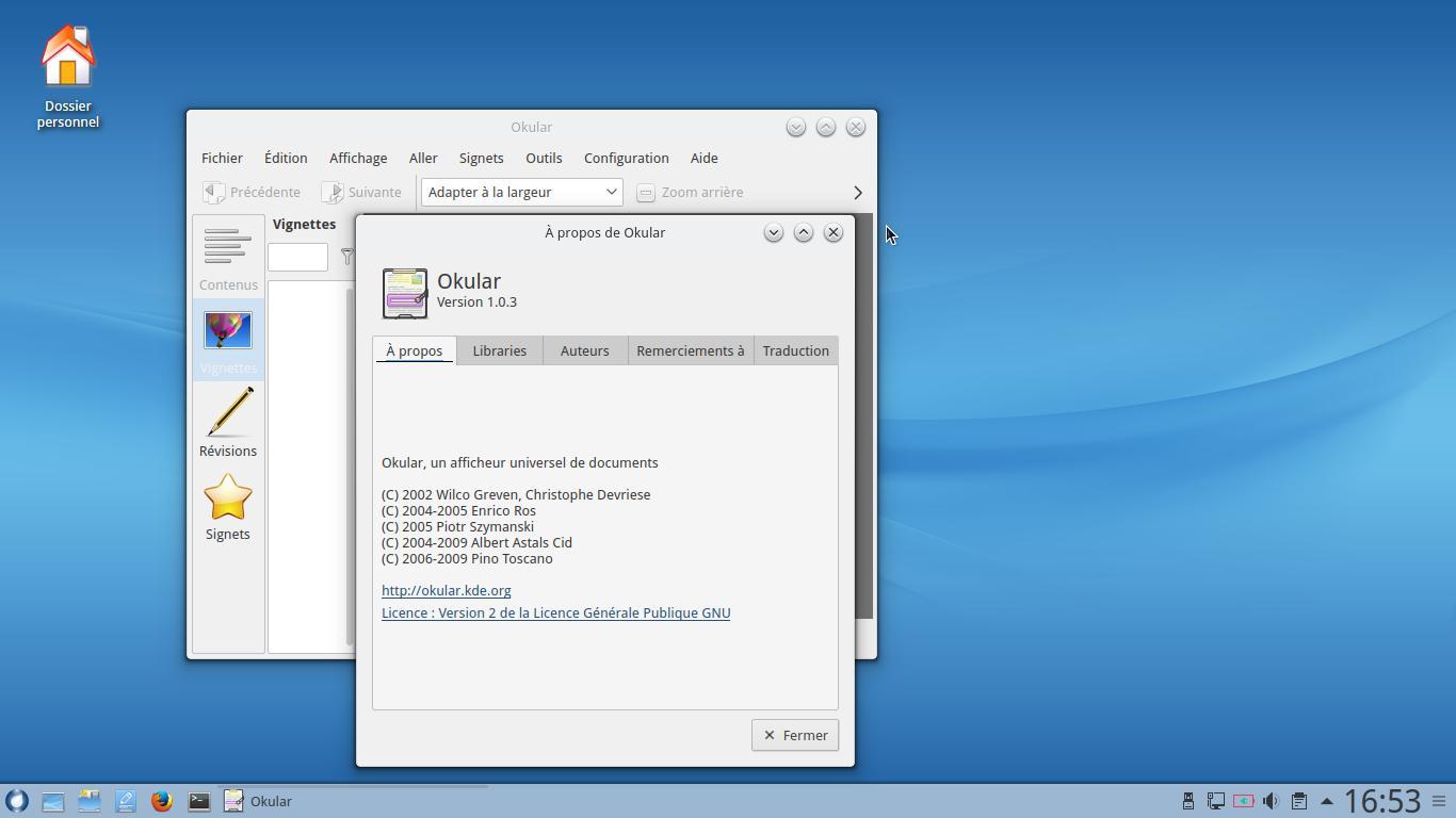 Rosa desktop R9 desktop KDE desktop - 4 años de soporte técnico 4