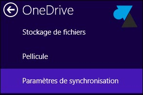 Desactivar o modificar la sincronización automática en Windows 8 / 8.1 OneDrive