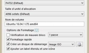 Preparar una llave USB para el modo UEFI de Linux con RUFUS