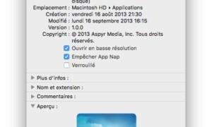 Optimizar un juego en la pantalla de Mac / MacBook Retina