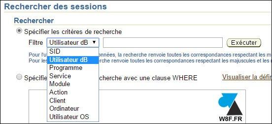 Oracle 11g : cerrar una sesión iniciada sobre una base