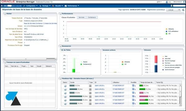 Instalación de un servidor Oracle 12c