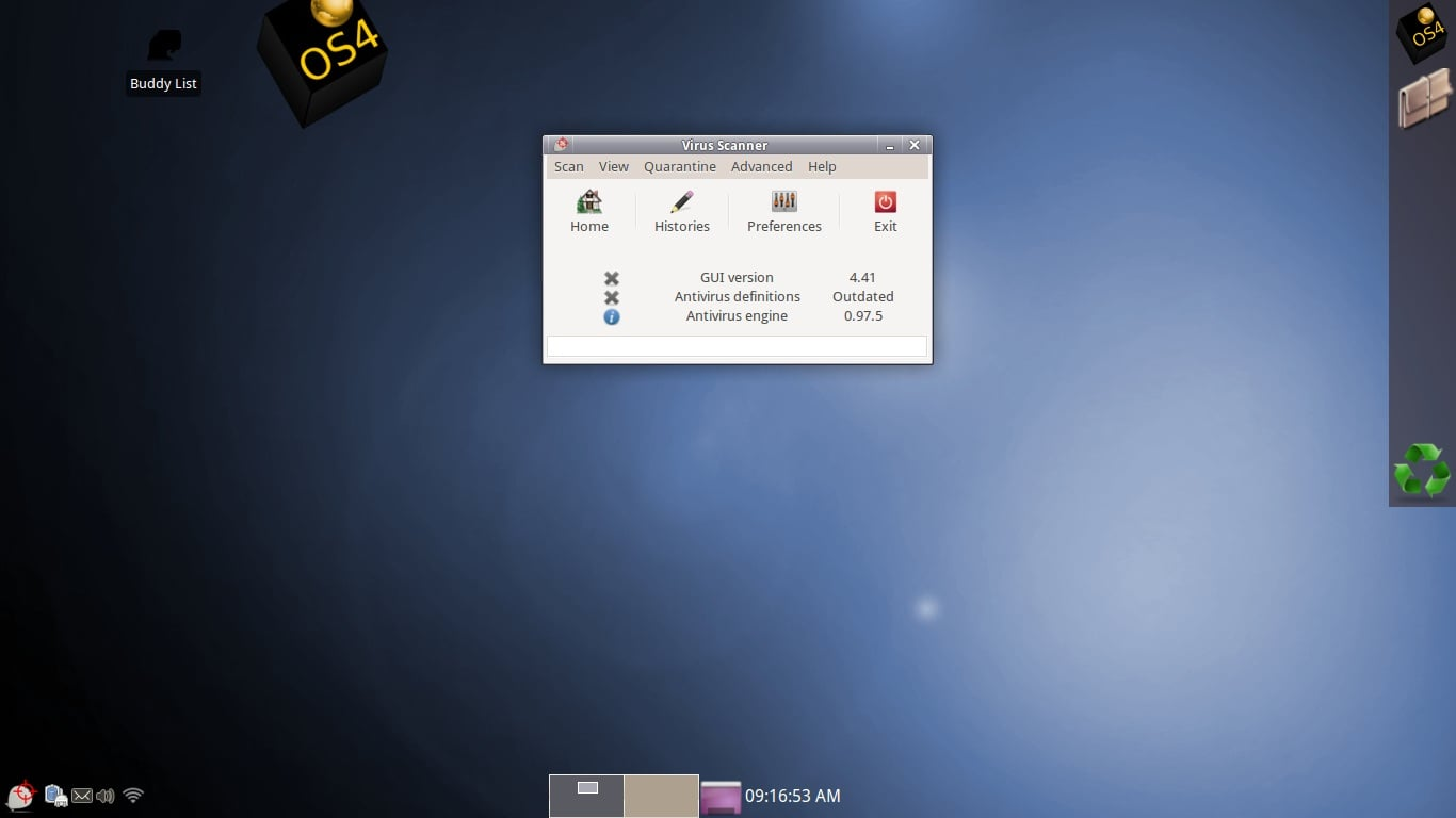 OS4, versión 13