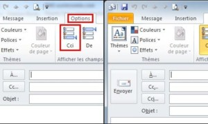 Outlook: muestra el campo BCC (copy mail oculto)