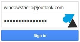 Reenviar contactos de una cuenta de Gmail a Outlook