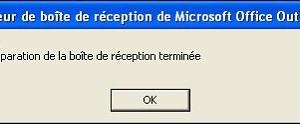 Microsoft Outlook: reparar un archivo PST