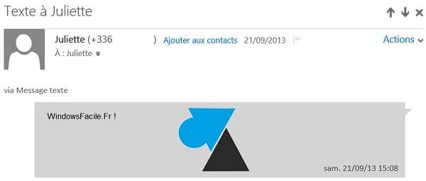 Windows Phone: consulte sus mensajes SMS desde un ordenador (nueva versión)