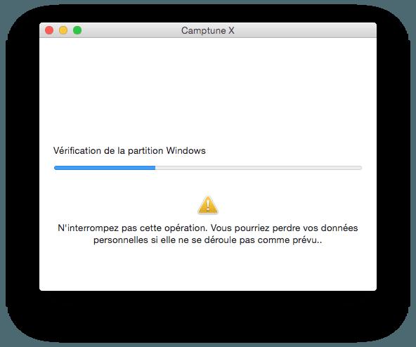Cambiar el tamaño de una partición Mac / Windows (Boot Camp)