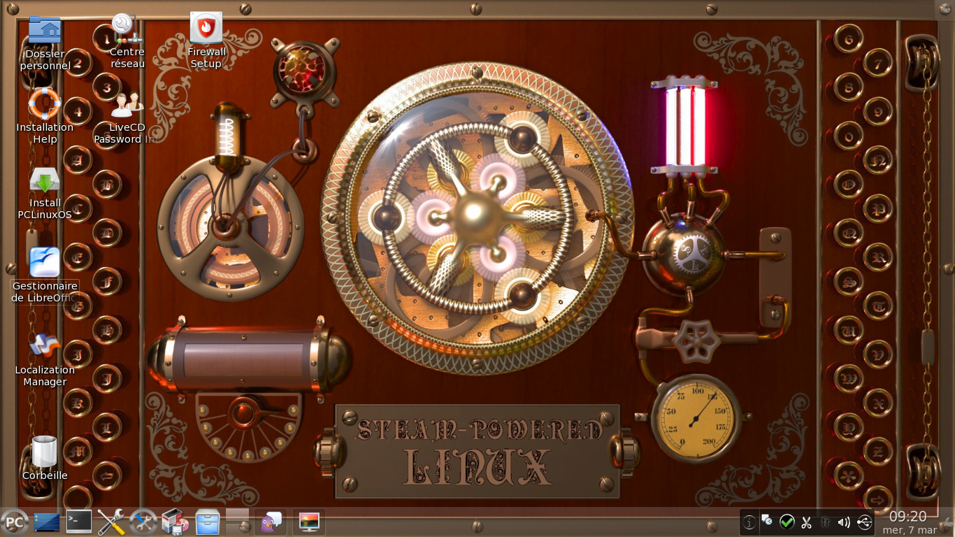 Prueba de escritorio PCLinuxOS KDE 2012