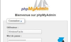 XAMPP: permite la conexión remota a phpMyAdmin