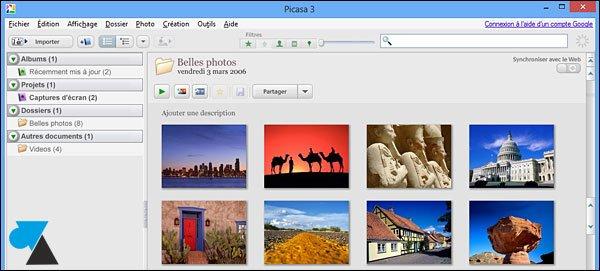 Instalar el software de Picasa
