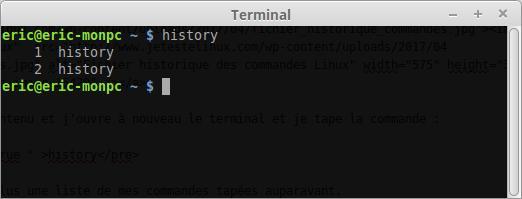 Cómo borrar el historial de comandos del terminal Linux