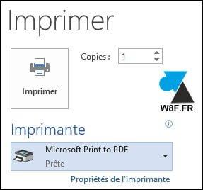 Windows 10: convertir un documento de Word o Excel a PDF