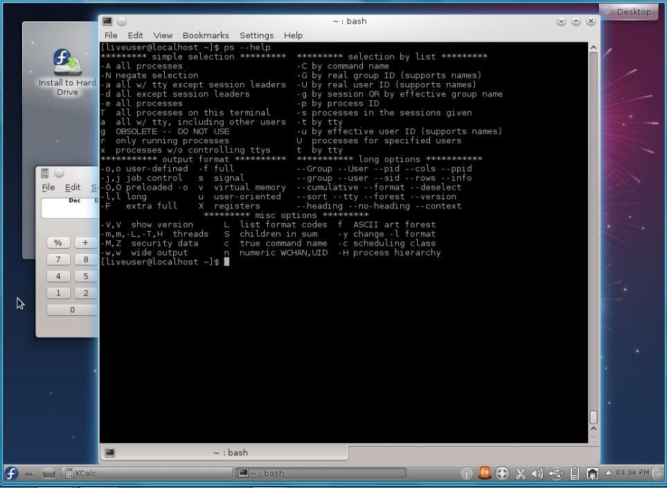 Procesos bajo Linux