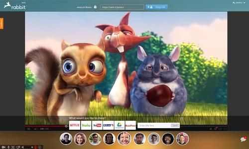 Rabbit, más que un simple servicio de videoconferencia